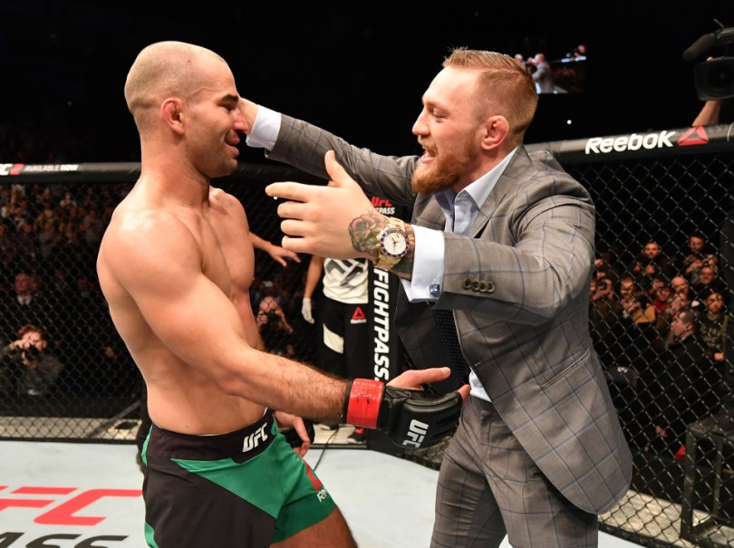Artem Lobov with Conor Mcgregor